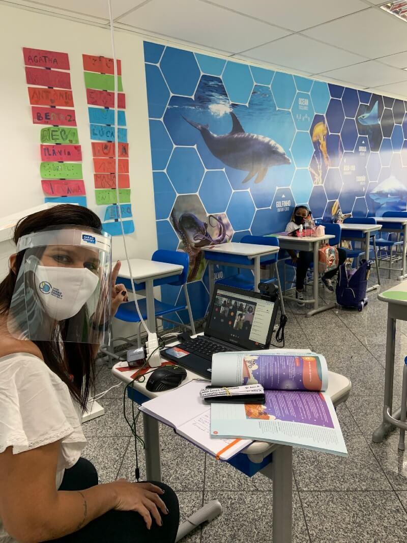 SD Tijuca - EF3A - 1º dia de aula híbrida
