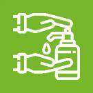 Recomendamos que todos os professores de nossa equipe higienizem suas mãos com frequência.